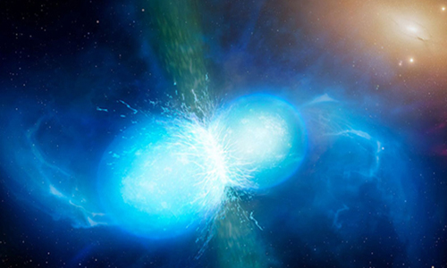 Collision Neutron Stars