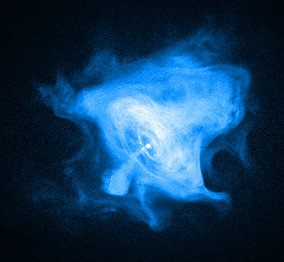 Crab Nebula Blue Center
